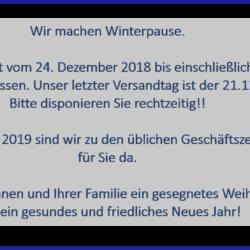Weihnachten 2018 deutsch