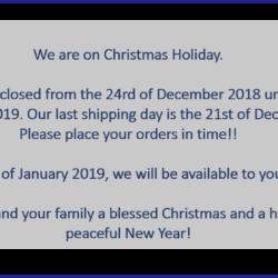 Weihnachten 2018 englisch